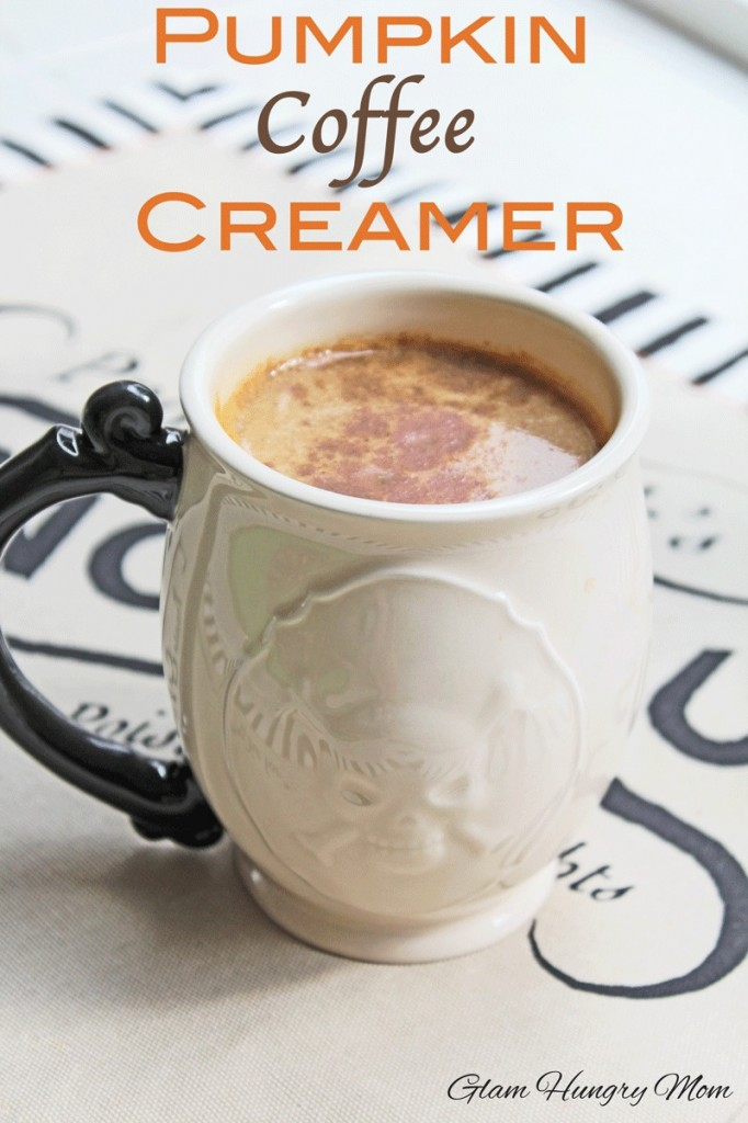 Pumpkin Coffee Creamer.  Tastes good enough to drink and with none of those nasty chemicals!