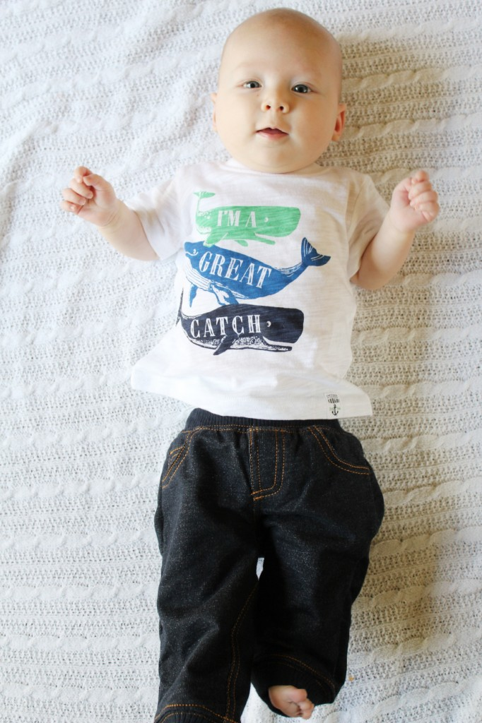 carters great catch whale tee sale