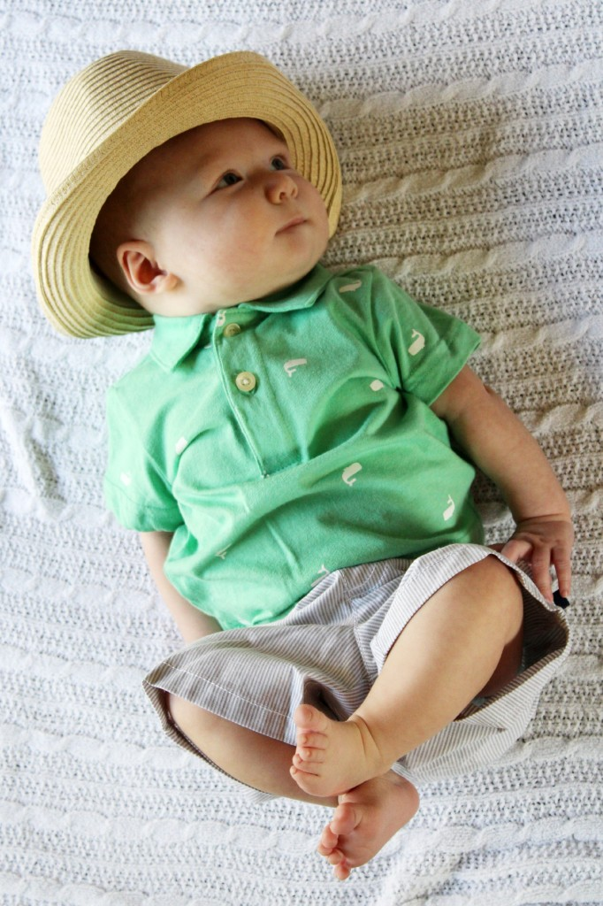 carters whale tee striped shorts fedora sale.jpg