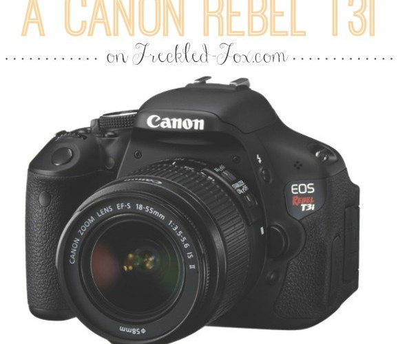 Enter To Win A Canon Rebel T3i