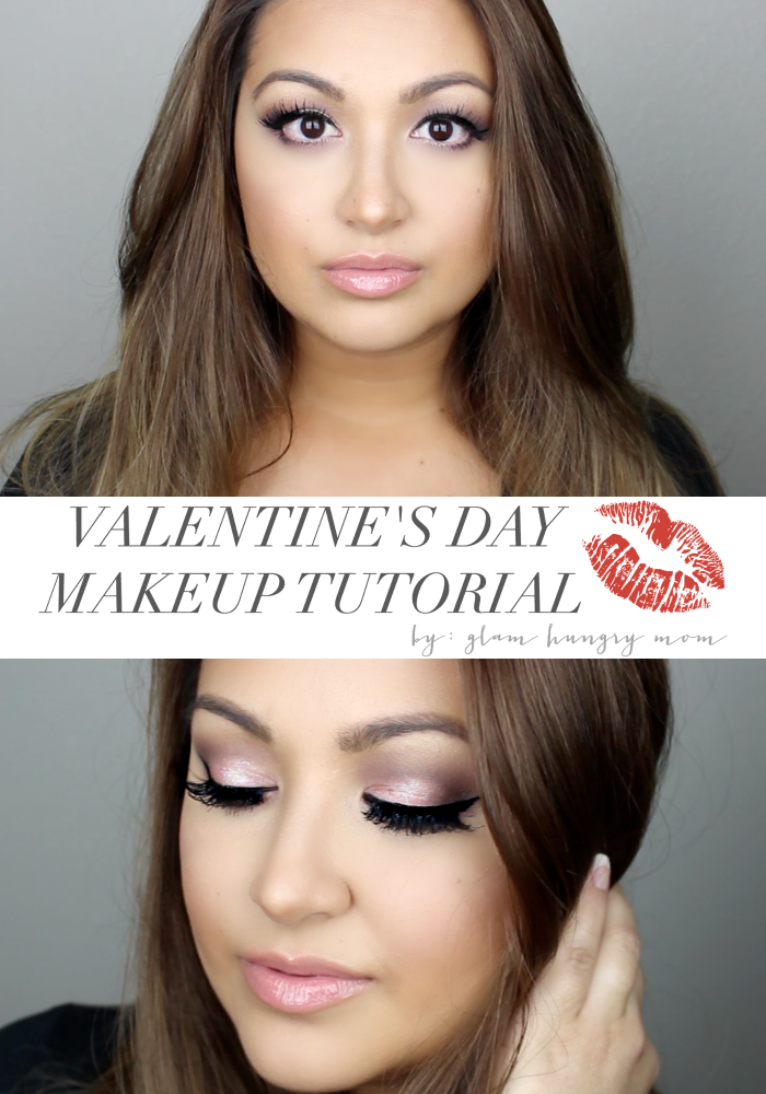 sexy valentine's day makeup tutorial perfect for date night makeup