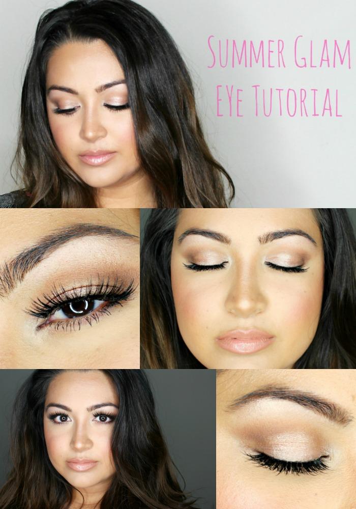Summer Eye Makeup Tutorial Andrea Bai