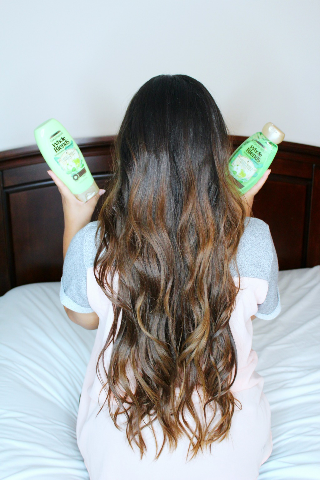 Keeping My Long Hair Healthy With Garnier Whole Blends
