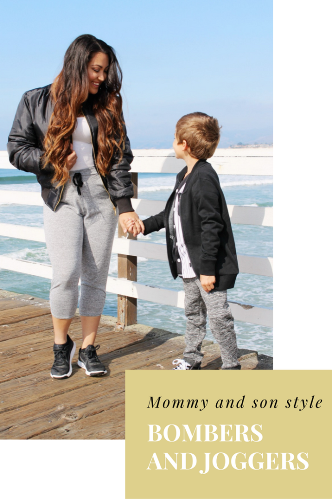 mom and son style