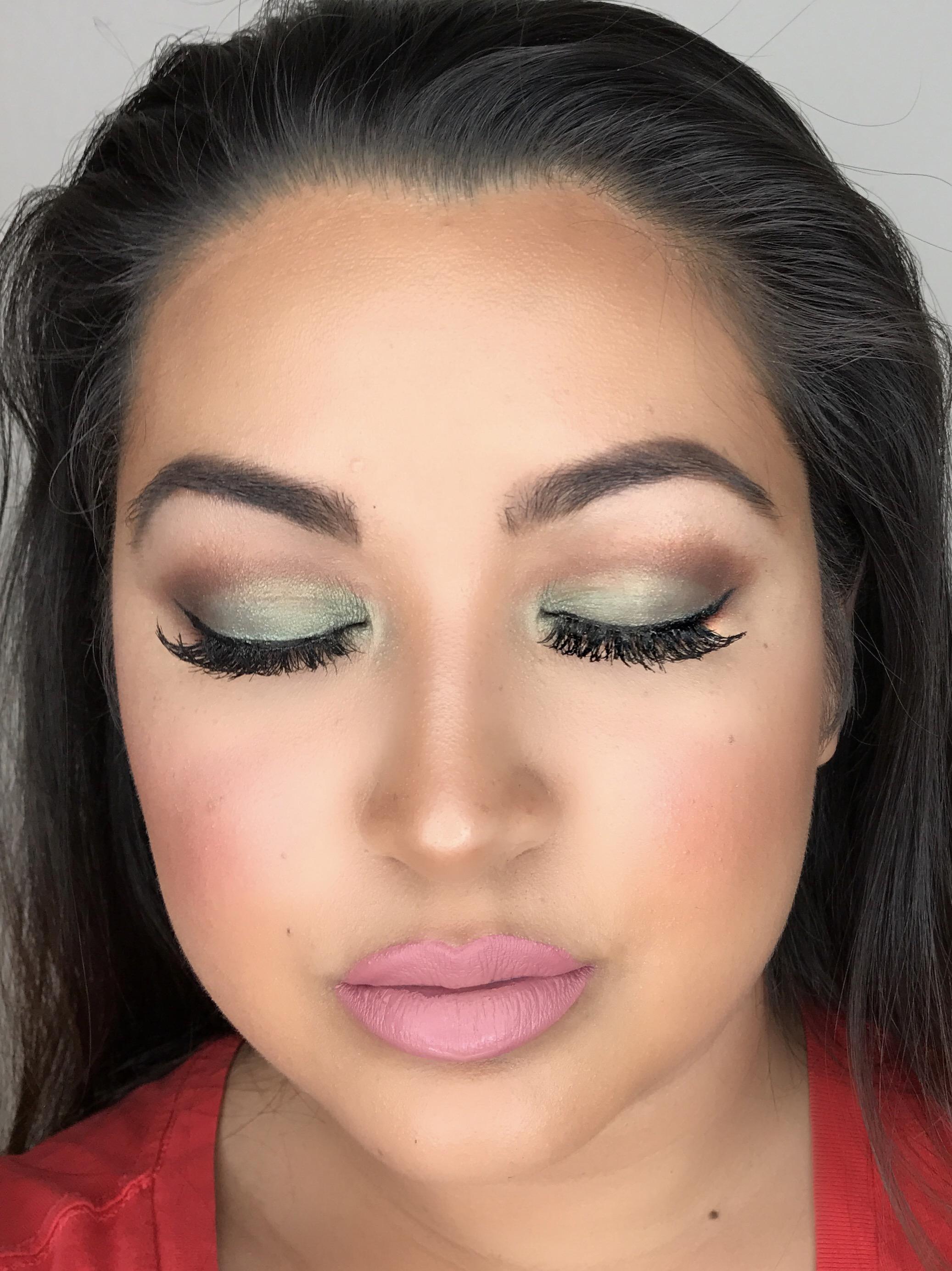 Green Goddess Makeup Tutorial