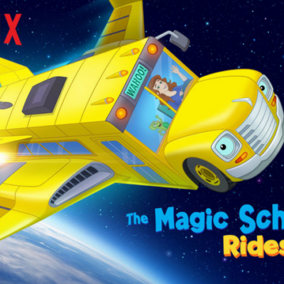 It's FINALLY here!  The Magic School Bus Rides Again!
