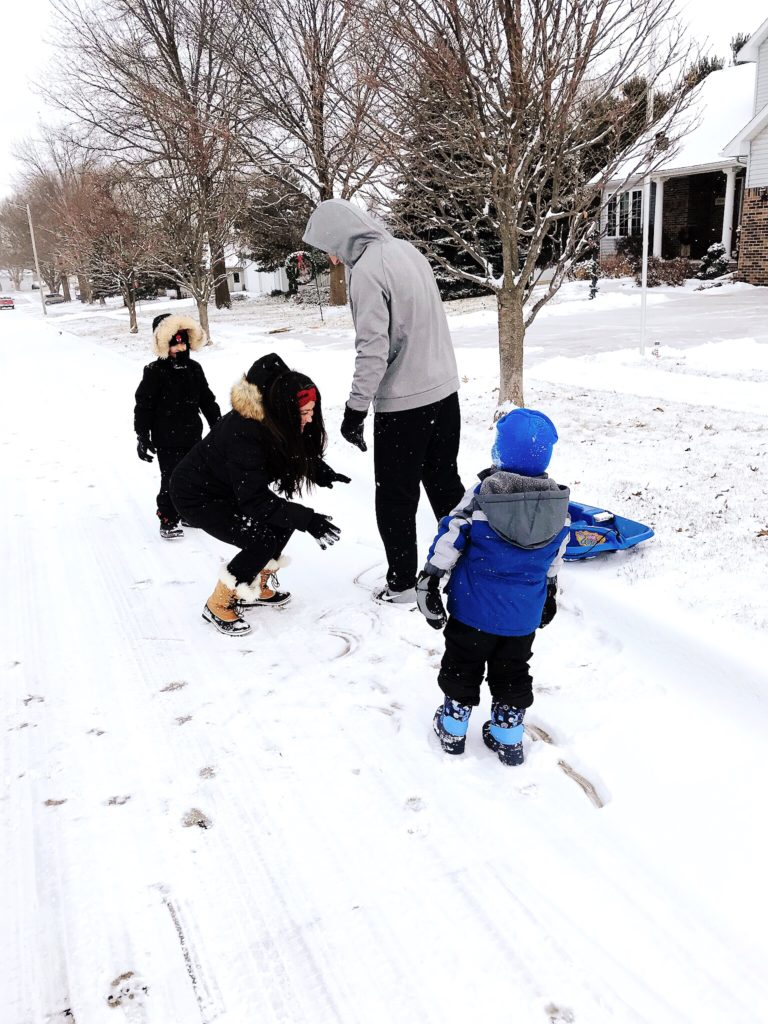 Winter in Cedar Falls